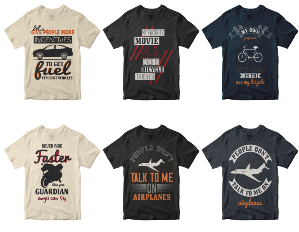 50-editable-vehicles-t-shirt-design-bundle
