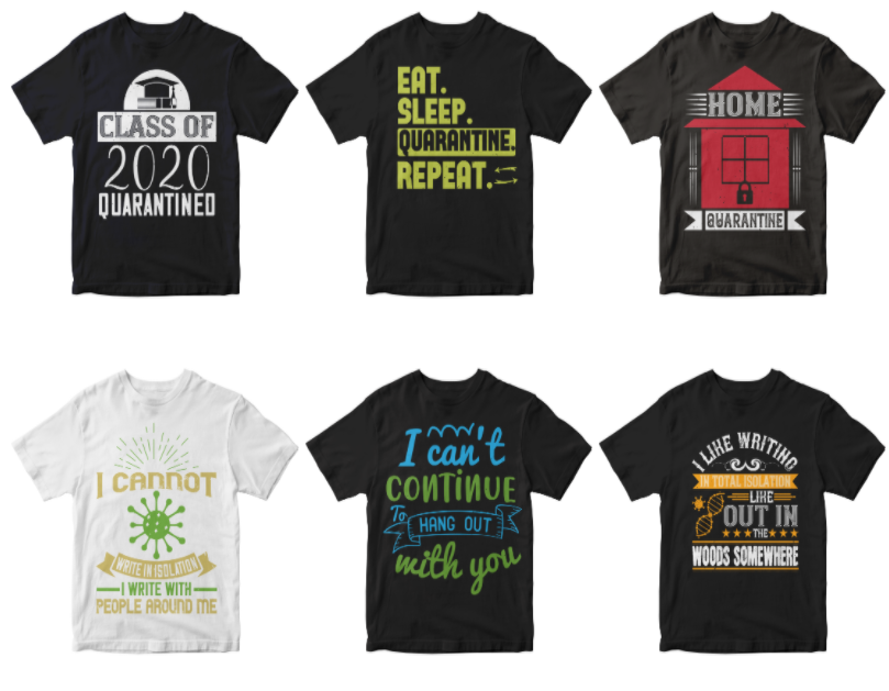 50-editable-home-quarantine-t-shirt-design-bundle