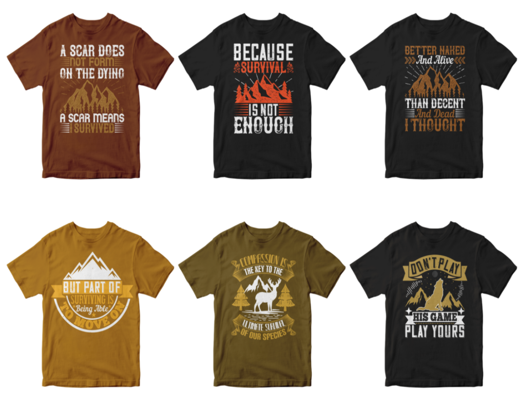 50-editable-survival-tshirt-design-bundle