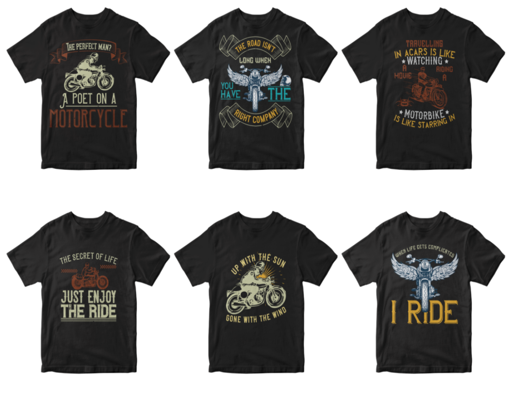 50-editable-motorcycle-t-shirt-design
