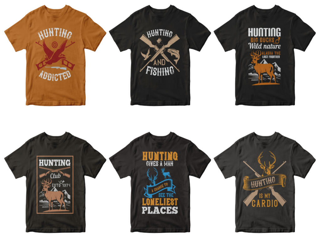 50-hunting-tshirt-design