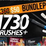 1730 Brushes BIG BUNDLE