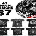 T Shirt Designs Animal