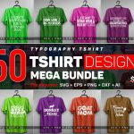 250 T-shirt Design Big Bundle